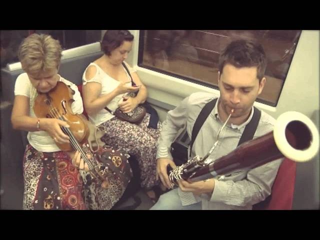 Musical Flashmob on Metro Bilbao by an orchestra from the Basque Country