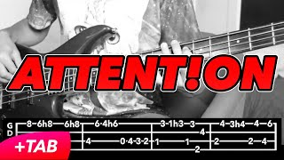 download lagu Charlie Puth - Attention Bass Cover +tabs In gratis