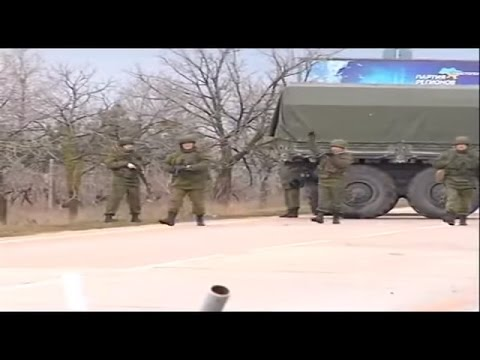 Russian Terrorists Invade Ukraine And Seize Crimea, February 28 2014