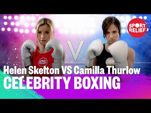Helen Skelton Vs Camilla Thurlow | Celebrity Boxing - Sport Relief 2018