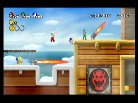NEW SUPER MARIO BROS WII-ALM1GHTY-WIFEY-K1NG BREZZY-WORLD 4-PT5 Video