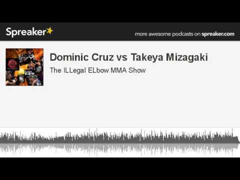 Dominic Cruz vs Takeya Mizagaki part 2 of 2 made with Spreaker