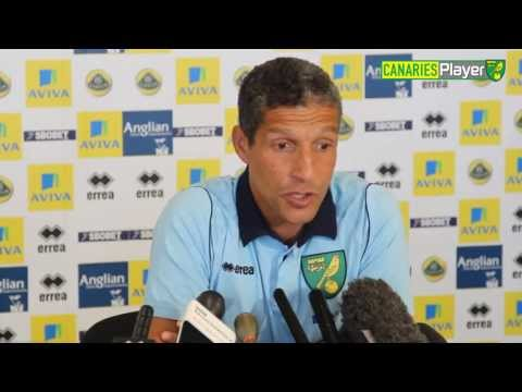 Norwich City Manager Chris Hughton Previews Cardiff Clash