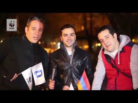 Highlights of Earth Hour 2016 in Armenia