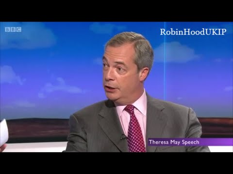 Nigel Farage on Mark Carney speech