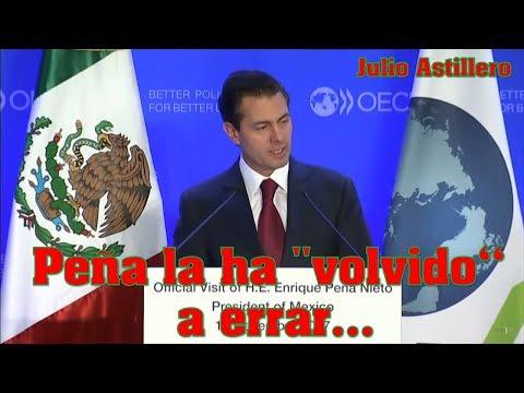 Julio Astillero. Peña la ha