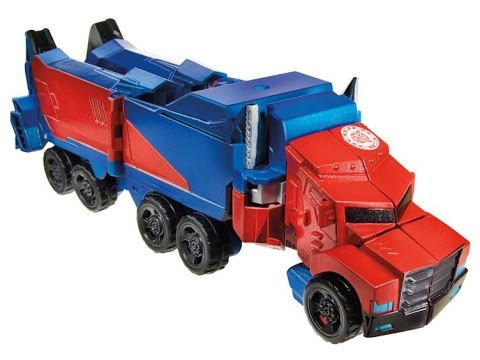 Transformers Robots In Disguise Optimus Prime - Warrior Class video
