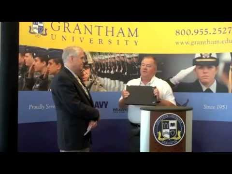 In The News - USS Missouri Plank Owner Selected For Grantham University Scholarship