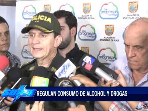 Regulan consumo de alcohol y drogas en Cali