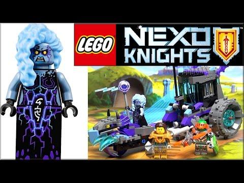 LEGO Nexo Knights 70349 Мобильная тюрьма Руины. Обзор Lego Ruina's Lock and Roller