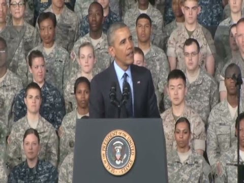 AFN Pacific - President Obama visits the Republic of Korea