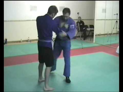 Sambo Techniques - Flying Armbar Image 1
