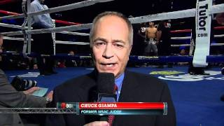 Chuck Giampa fails Shobox debut