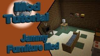 Jammy Furniture Mod - Neue Möbel für Minecraft [Client und Servermod][SP][SMP]