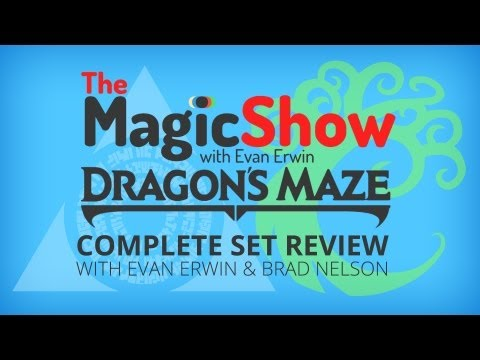 Dragon's Maze Complete Set Review - Blue. Azorius & Simic