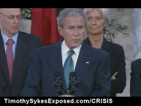 October 11 2008 George Bush G7 Nations Speech on Financial Credit Crisis Economic Resolve and Depression