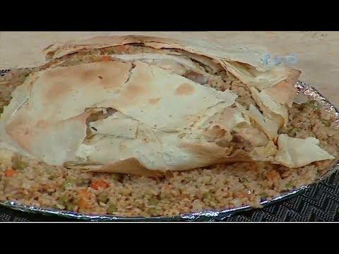 فراخ محشيه بخبز التورتيلا الشيف #نونا من برنامج #البلدى_يوكل #فوود