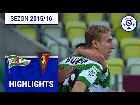 Lechia Gdańsk - Pogoń Szczecin 1:1 [skrót] Sezon 2015/16 Kolejka 03