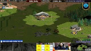 C5T4 AoE 22 Random BiBi, HeHe vs Chim Sẻ, Hồng Anh Ngày 23-1-2019