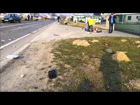 Wypadek Motocyklowy 25.03.2015 Sokołów
