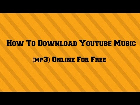 How To Download Youtube Music (mp3) Online For Free