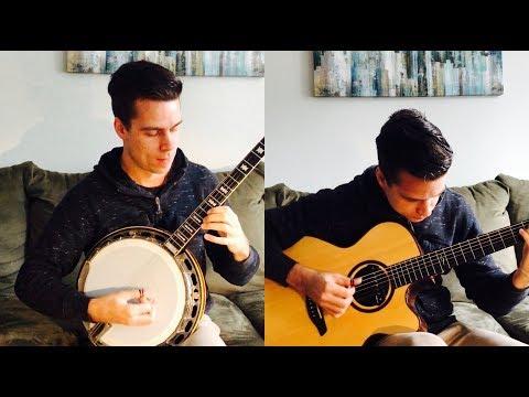 Tetris Theme -  Korobeiniki (Guitar/Banjo solo) - Jamie Dupuis