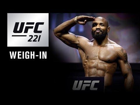 UFC 221: Weigh-in