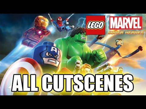 Lego Marvel Super Heroes Full Movie (2013) All Cutscenes True-hd Quality video