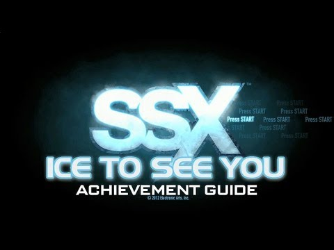 SSX: Ice to see you Achievement Guide