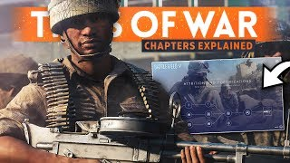 BATTLEFIELD 5 TIDES OF WAR EXPLAINED: Weapon Unlocks, Chapter Rank, Rewards, Cosmetics & MORE!