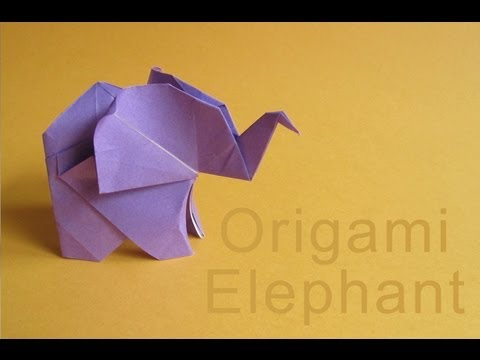 How To Make An Elephant With Origami