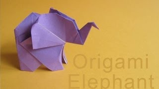 Origami Elephant :: Elefante De Papel
