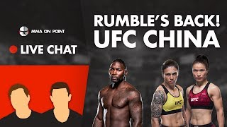 MMA On Point Live Chat: UFC 241 Preview - Rumble's Back! UFC China, UK PPV for 242??
