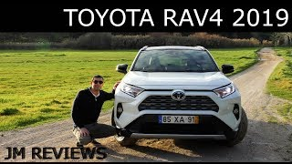 Toyota RAV4 Hybrid 2019 - O SUV Mais Vendido Do Mundo!!! Está Melhor?? - JM REVIEWS 2019