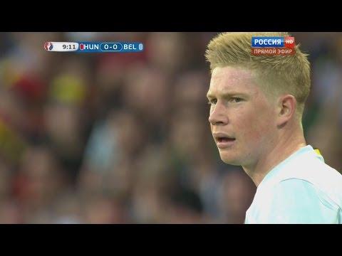 Kevin De Bruyne vs Hungary (EURO 2016) 26/6/2016 HD 720p 50fps