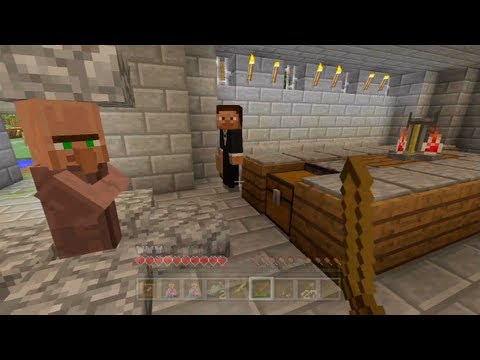 Minecraft Xbox - Hunger Games With friends - Part 1