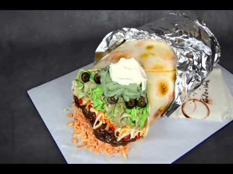 Realistic Cake Images : Realistic Burrito Cake - YouTube