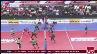 Grand Final Bola Volly Putra set 2 2015 part II
