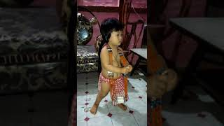"Baby Ruhi in tribal dress....@$#^^""""""::;;,,,,,/__"
