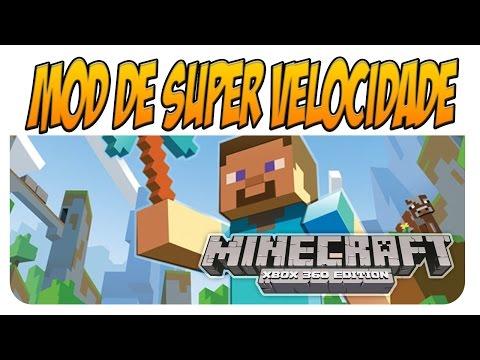 Minecraft Xbox 360 Mod Tutorial: Como Instalar MOD no Minecraft - MOD Super Velocidade - Tutorial #1