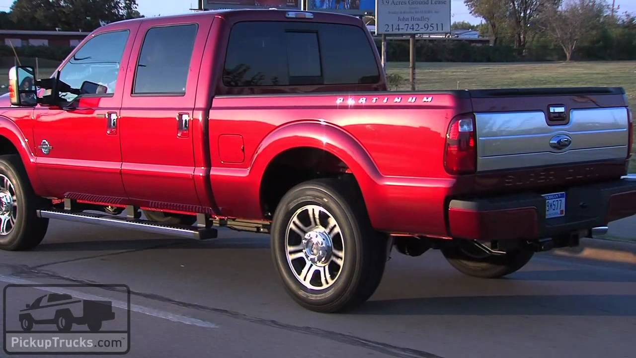 Ford 39 s new luxury pickups or 2013 ford super duty platinum and ford f 150 limited youtube