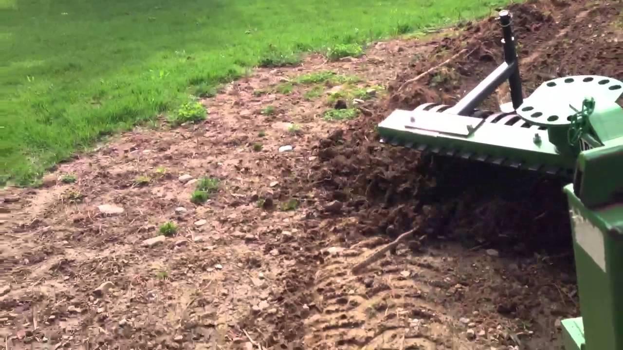 Landscape Root Rake : John deere landscape rake