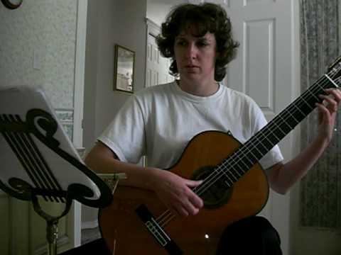 Fernando Sor - Etude No 1 Op 60
