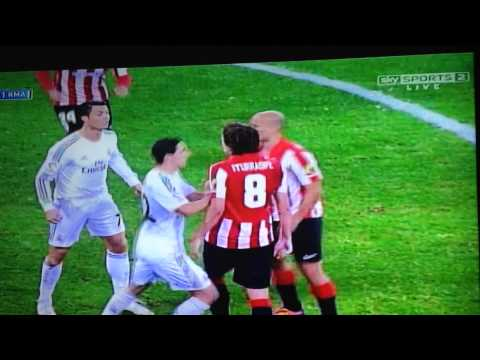 Cristiano Ronaldo Red card vs Athletic Bilbao !!!!