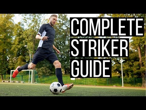 How To Play Striker In Football