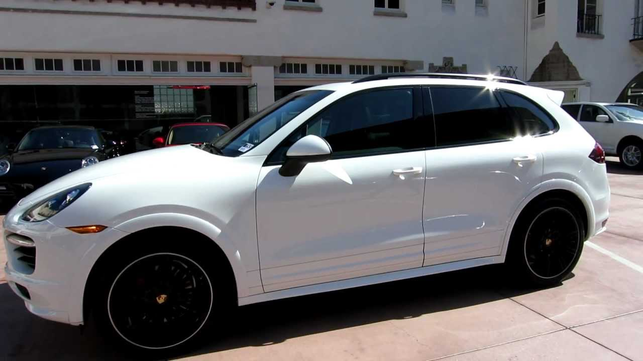 2013 Porsche Cayenne Gts White Black Now Available For