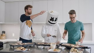 Download Song The Ultimate Pancake Cook-off ft. Rhett and Link | Cooking with Marshmello Free StafaMp3