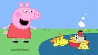 Peppa Pig Nederlands Compilatie Nieuwe Afleveringen ⭐ Bootje Varen! ⭐ Tekenfilm | Peppa de Big