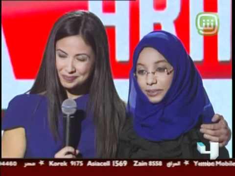 Arabs Got Talent - Semi-final - Ep9 - شيماء المغيري فتاة ترسم لوح فنية رائعة بالرمال