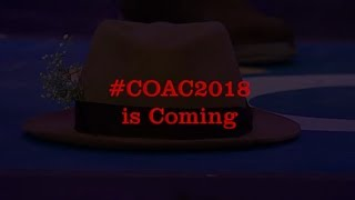 #COAC2018 is Coming